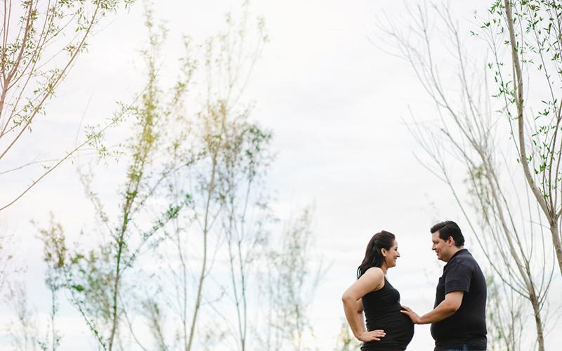 Conchita, Abelardo & Marcelo / Sesión de maternidad