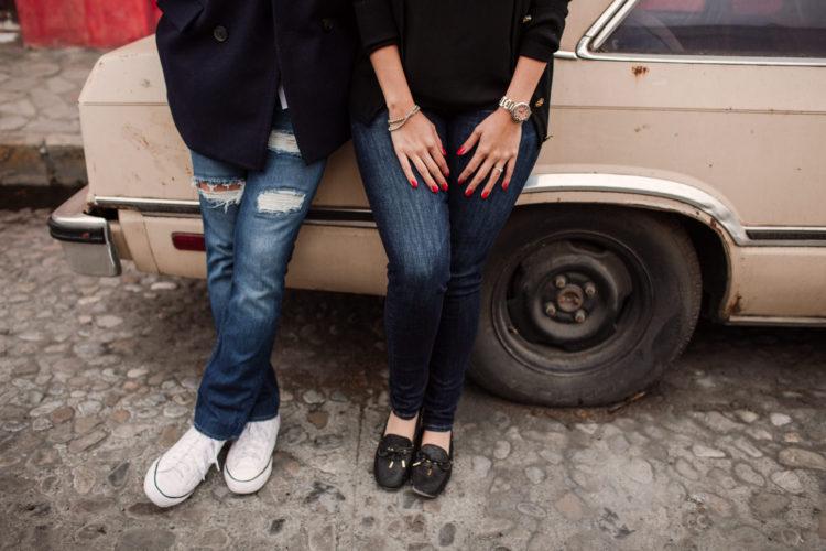 Sesión Casual en Barrio Antiguo Monterrey // Mariel & Ramón