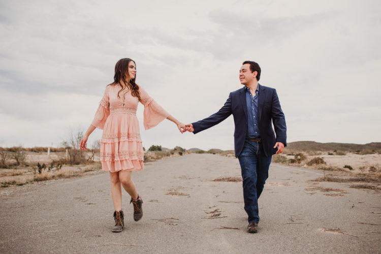 Sesión casual en el Desierto // Natalia & José Luis