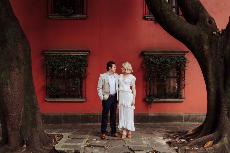 Sesion Casual en Coyoacan, CDMX // Jessica & Alan