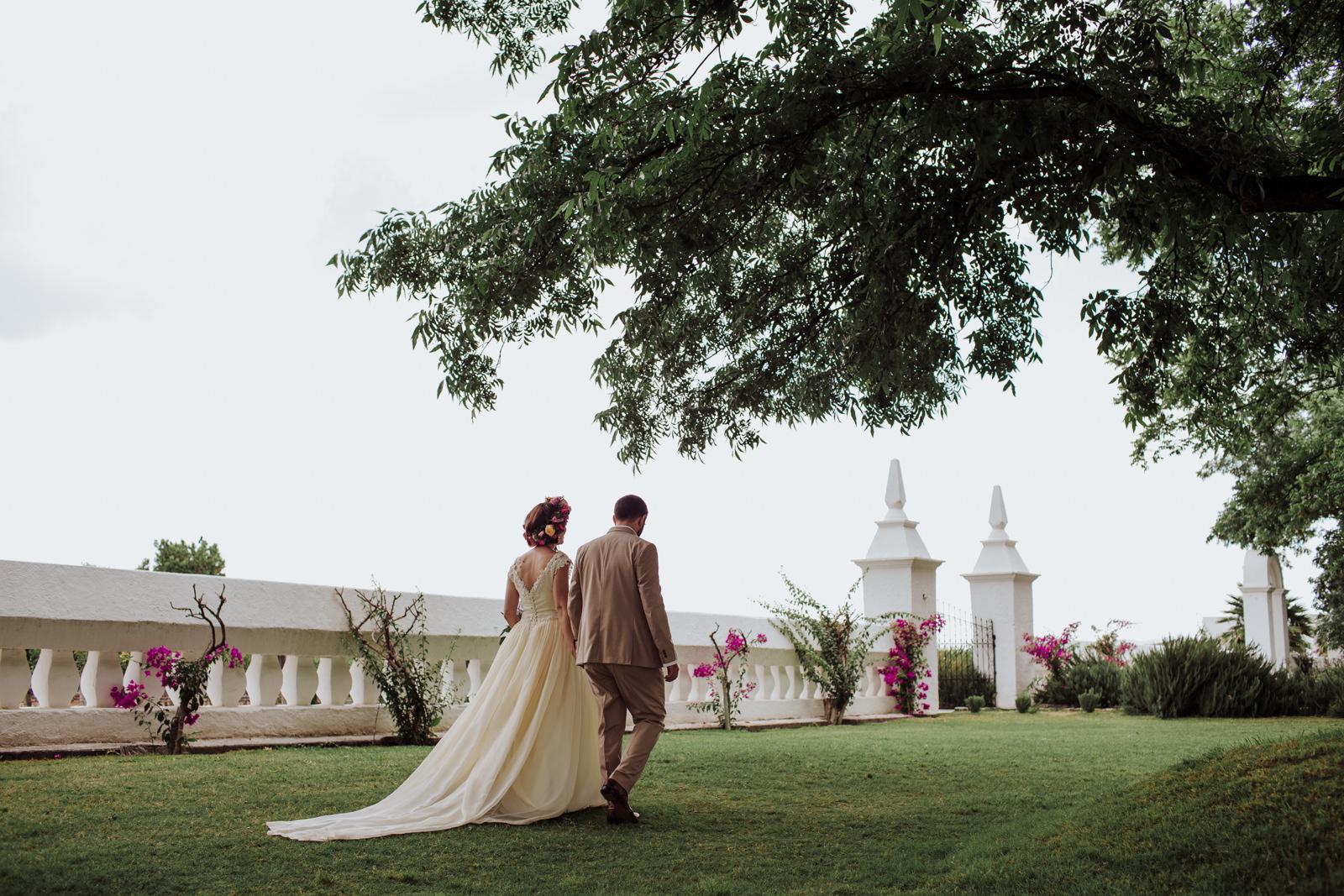 boda en casa madero